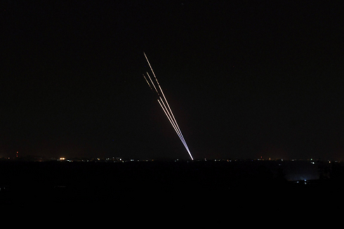 Rockets fired from Gaza during Operation Protective Edge (Photo: AFP) (Photo: AFP)