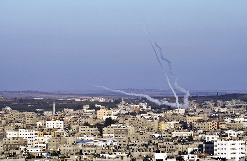 Over 4,500 rockets launched (Photo: AFP) (Photo: AFP)