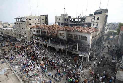 Destruction in Rafah after Operation Protective Edge. (Photo: Reuters) (Photo: Reuters)