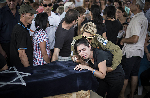 Funeral for 4-year-old Daniel Tregerman (Photo: Gettyimages)