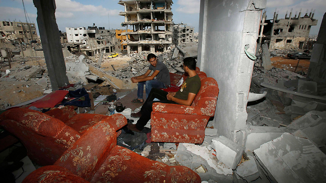 Instead of rebuilding Gaza, Hamas prefers to dig attack tunnels and make rockets. (Photo: Reuters)