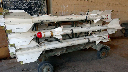 Missiles seized by ISIS in Syria (Photo: AP)