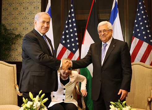 We must communicate with the Palestinians. Abu Mazen and Netanyahu. (Photo: GettyImages) (Photo: gettyimages)