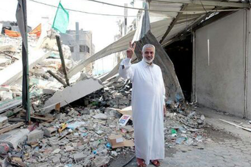 Ismail Haniyeh's house, destroyed in Operation Protective Edge