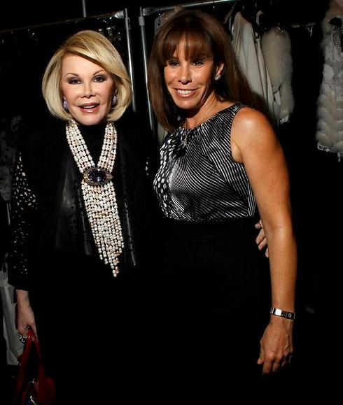 Joan Rivers with her daughter Melissa (Photo: Reuters)
