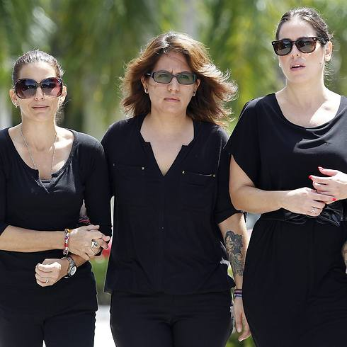 Cousins of Steven Sotloff leave Temple Beth Am (Photo: Reuters) (Photo: Reuters)