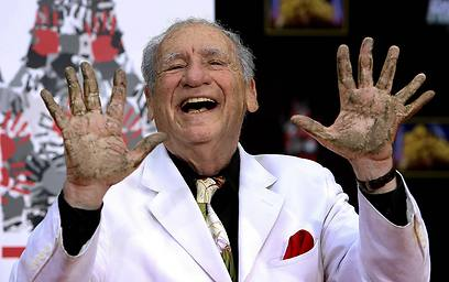 Mel Brooks and his extra finger (Photo: MCT) (Photo: MCT)