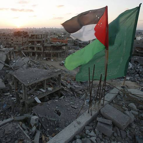 The ruins of Gaza. (Photo: Reuters) (Photo: Reuters)