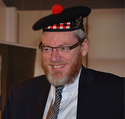 Rabbi Yehuda Yonah Rubinstein. 'An independent Scotland means a leftist Scotland with a sweeping anti-Israel outlook'