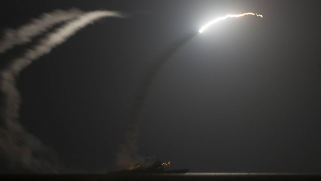US Tomahawk missile attack on ISIS (Photo: AFP PHOTO / US NAVY/ERIC GARST)