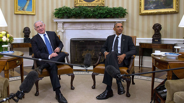 Netanyahu and Obama at a meeting in Washington (Photo: AFP) (Photo: AFP)