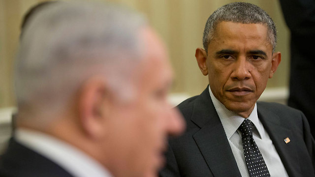 Obama and Netanyahu at the White House earlier this month. (Photo: AFP) (Photo: AFP)
