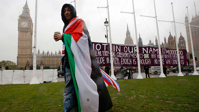 The British Parliament. 'It is not only Europe's diplomatic duty to become more vigorously involved in the resumption and completion of the peace process, but also its moral duty not to leave the Palestinians alone in the struggle for independence' (Photo: Reuters)