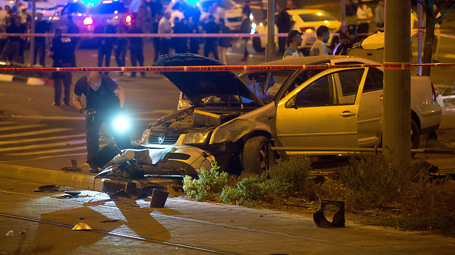 Wednesday night's attack at the light rail (Photo: AFP) (Photo: AFP)