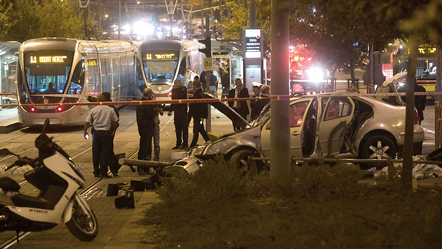 Wednesday night's attack at the light rail (Photo: AFP)