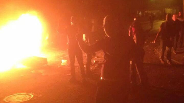 Riots in Wadi Joz and Mount of Olives, Saturday