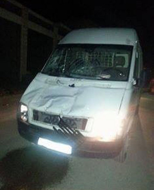 Damage caused to vehicle used in attack