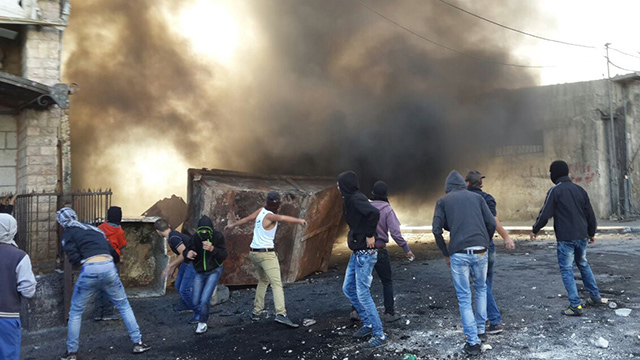 Clashes in East Jerusalem (Photo: Mohammed Shinawi) (Photo: Mohammed Shinawi)