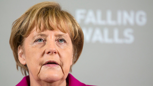 German Chancellor Merkel. 'Her government sells weapons to dictators in the Middle East and closes an eye to the infiltration of Islamist preachers and propaganda material' (Photo: Reuters)