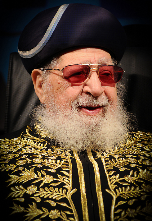 Rabbi Ovadia Yosef (Photo: Israel Bardugo)