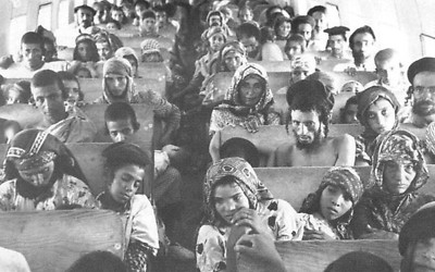 Yemenite Jews fleeing to Israel in 1949-50. Abbas maintains there was no anti-Semitism at all in Arab states. (Photo: Wikimedia Commons)  (Photo: Wikimedia Commons)