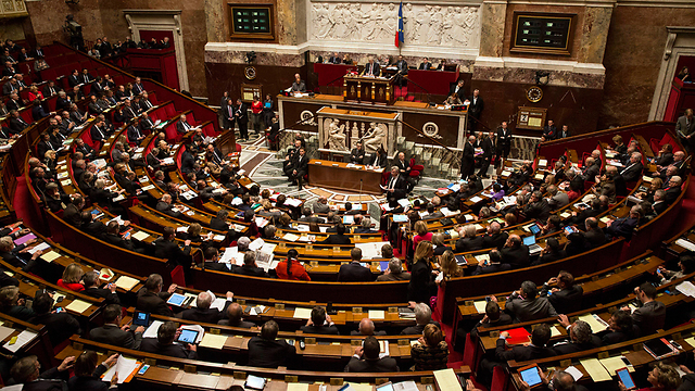 France's parliament during the vote (Photo: EPA)