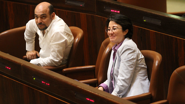 Balad MK Hanin Zoabi (Photo: Ido Erez)