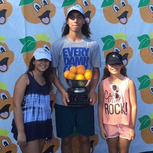 Oliel wins Junior Orange Bowl competition (Photo: Israel Tennis Association) (Photo: Israel Tennis Association)