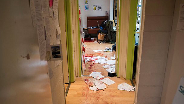 Aftermath of attack at Charlie Hebdo offices