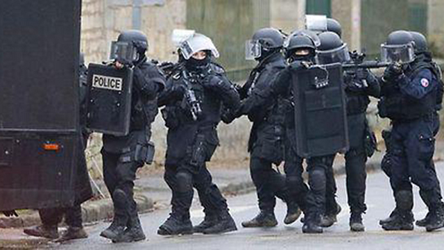 French police special forces have cornered the suspects.