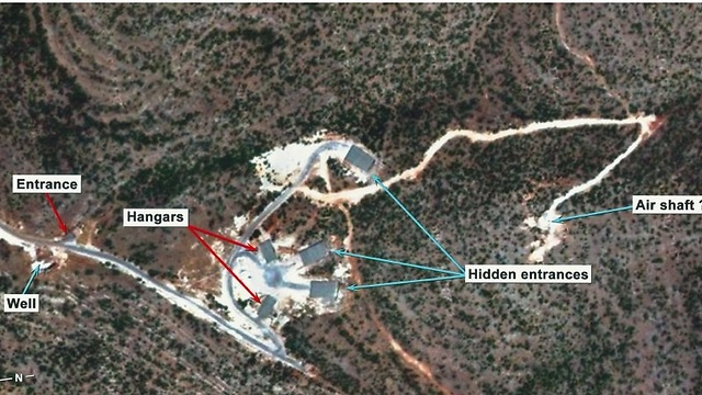 Syria's alleged underground nuclear facility