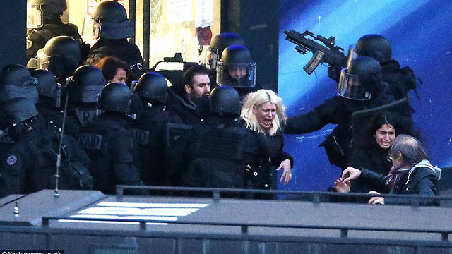 Attack on kosher supermarket in Paris in January. Concern about violence against Jews increased by 20% in France, 31% in Belgium, and 33% in Germany