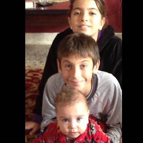 Layla, Nazir and Yazan. 'I have only one dream', says Aisha, 'to get to my children'