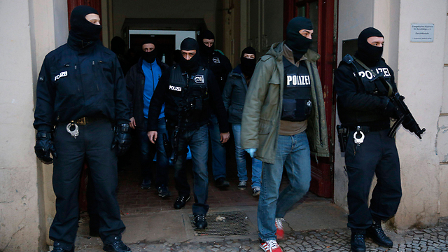 German police forces (Photo: Reuters)