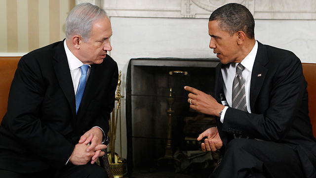 Prime Minister Benjamin Netanyahu with US President Barack Obama in a White House meeting (Archive Photo: Reuters)