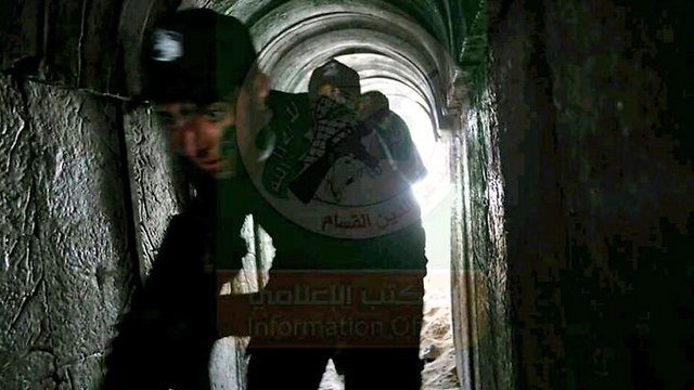Tunnel warfare training at a Hamas youth camp