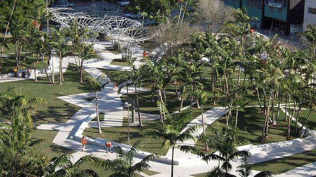 A similar project in Miami. (Photo: Courtesy of Tel Aviv Municipality) (Photo: Courtesy of Tel Aviv Municipality)