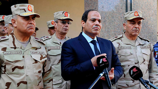 Egyptian President Abdel Fattah al-Sisi. How did such a major offensive fly under the Egyptian intelligence's radar? (Photo: Reuters)