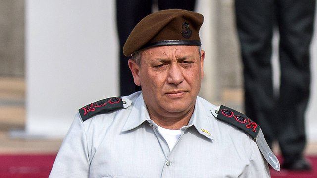 Chief of Staff Gadi Eisenkiot (Photo:AFP)