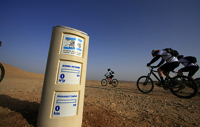 Israel Bike Trail. 'An experiential attraction to tourists who love sports as well as Israelis who love to tour the country' (Photo: Shai Giterman, Adrenaline)
