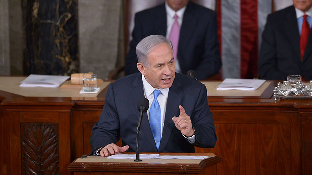 Iran is a threat to the entire world, Netanyahu said in his speech. (Photo: AFP) (Photo: AFP)