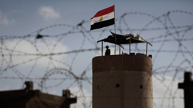 Guard tower on Gaza-Egypt border (Archive: EPA)