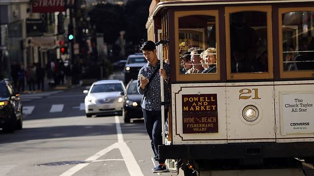 A cable car in San Francisco (Photo: Reuters)