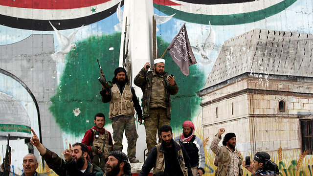 Nusra Front forces in Idlib (Photo: Reuters) (Photo: Reuters)