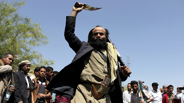Houthi rebels in Yemen (Photo: AFP) (Photo: AFP)