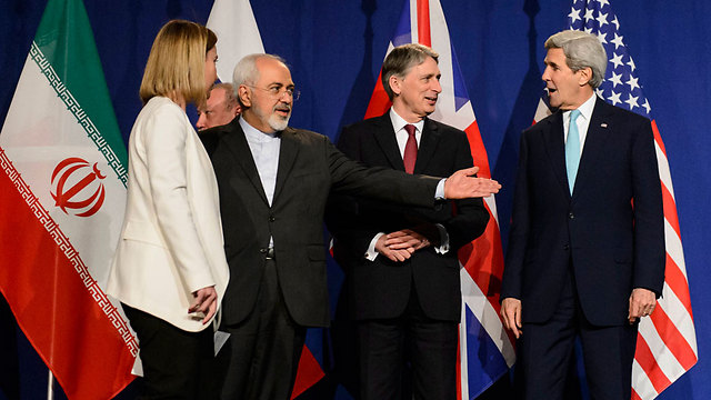 Nuclear negotiations in Lausanne. The secret document, once it is revealed, will likely show that the Americans have compromised much more than Tehran could have dreamed of (Photo: AP) (Photo: AP)