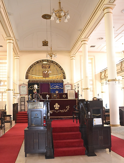 The Maghain Aboth Synagogue (Photo: Ayelet Mamo Shay)