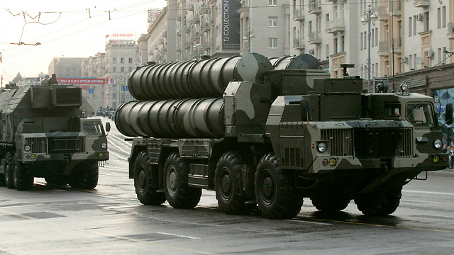 Russian-made S-300 missile system (Photo: Reuters) (Photo: Reuters)
