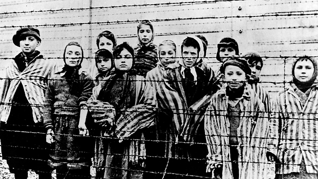 Survivors after The Liberation of Auschwitz, January 1945 (Photo: AP) (Photo: AP)