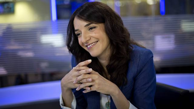 i24News and Channel 2 anchor Lucy Aharish (Photo: AP)
